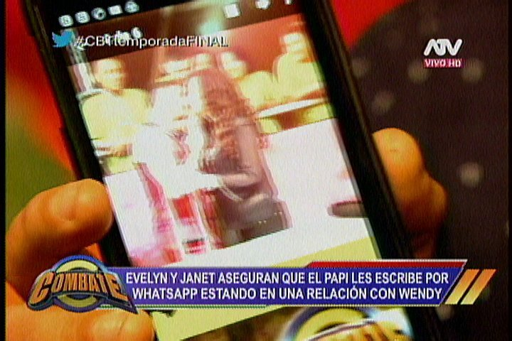 Combate: Evelyn Vela encara a 'El Papi' tras mensajitos con Janet Barboza [VIDEO]