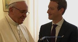 Facebook: Mark Zuckerberg visitó al papa Francisco y le regaló esto