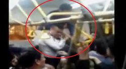 ​Metropolitano: Pasajeros se agreden brutalmente dentro de bus [VIDEO]