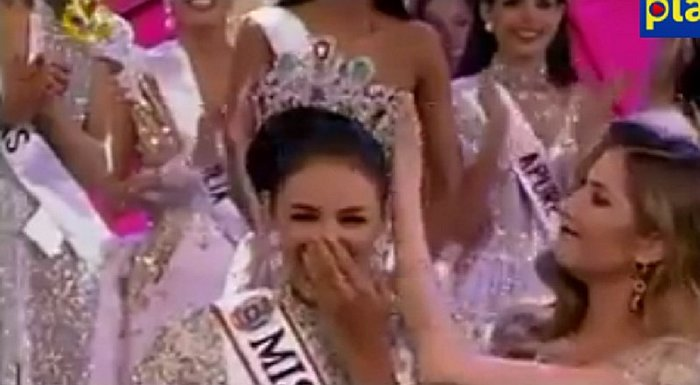 "YouTube: Gana el Miss Venezuela pero casi no la coronan por este ""detallito"" [VIDEO]"