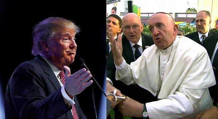 Papa Francisco sigue haciendo política contra Donald Trump
