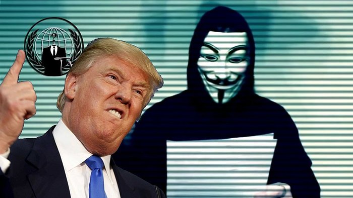 ​Anonymous reaparecen tras elección de Donald Trump (VIDEO)