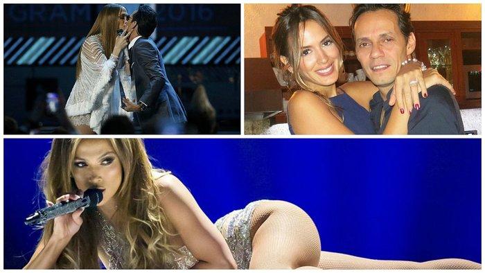 Grammy Latino 2016: Jennifer López y Marc Anthony se besan en público (VIDEO)