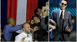 ¡Ama lo latino! Barack Obama pone fin a su discurso con música de Marc Anthony (VIDEO)
