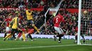 Arsenal anota al final del encuentro y empata 1-1 al Manchester United