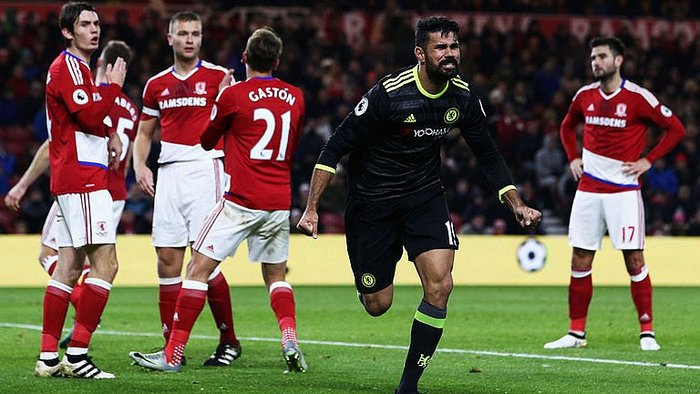 Premier League: Diego Costa anota y pone líder absoluto al Chelsea