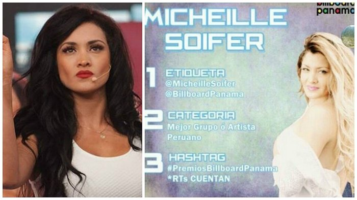 "​Michelle Soifer: ""He sido nominada a los premios Billboard Panamá"" (VIDEO)"