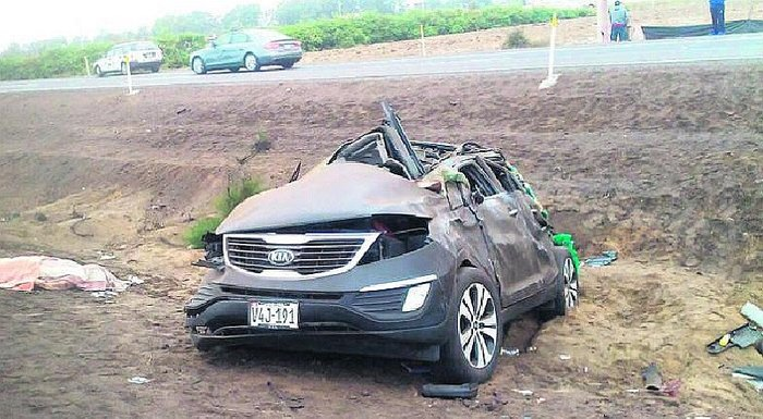 ​Cañete: mamita e hija mueren en terrible accidente