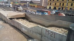 ​Puente Trujillo: Defensa Civil monitorea caudal del río Rímac