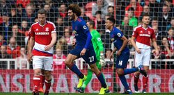 Premier League: Manchester United vence 1-3 al Middlesbroug