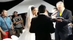 "YouTube: ¡Tragedia antes de dar el ""Sí""! Ocurrió algo terrible en plena boda (VIDEO)"