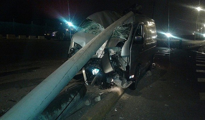 San Miguel: Se registró accidente de tránsito en la avenida Costanera (VIDEO)