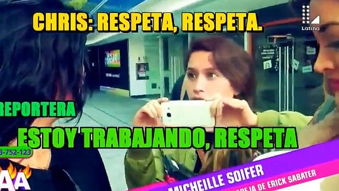 ​Chris Soifer peleó con reportera frente a Michelle Soifer