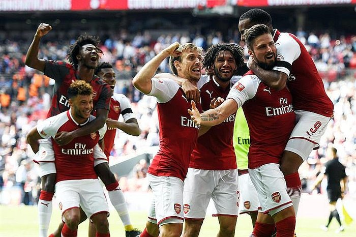 Supercopa: Arsenal campeona al vencer por penales al Chelsea (VIDEO)