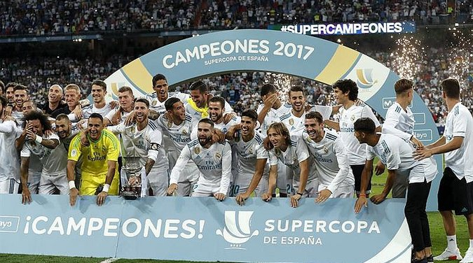 ​Supercopa: Real Madrid aplasta al Barcelona que sufre sin Neymar (VIDEO)