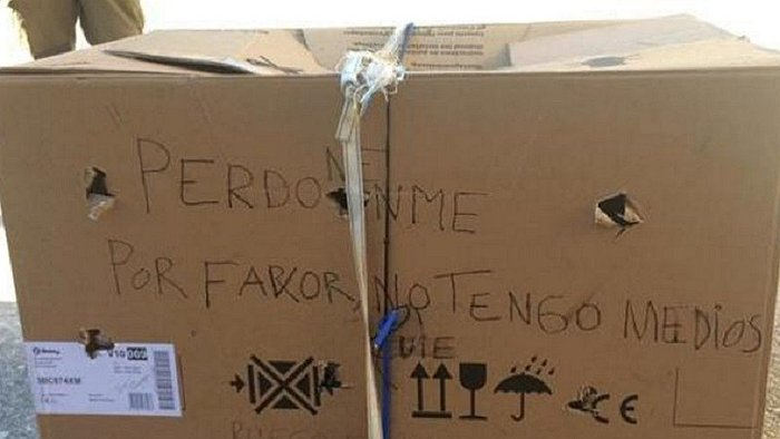 Found box with a scary message and not imagined what it ... - Everyday Eye 1