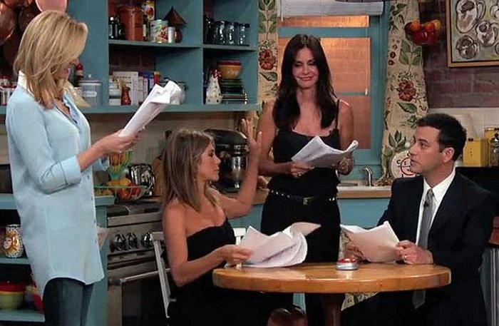 ¡Elenco de Friends se reunió para un mini capítulo! [VIDEO]