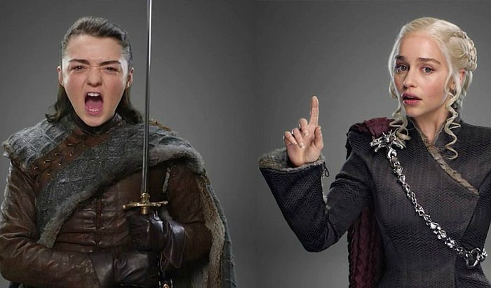 Game of Thrones: Actores cautivan con looks e imitaciones [FOTOS]