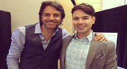 Bruno Pinasco se codea con Eugenio Derbez y hasta comparten película [FOTOS]