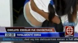 Chiclayo: Descubren a escolar ebria tras rendir examen final [VIDEO]