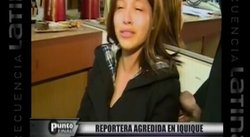Chile: Reportera es agredida a botellazos por sujeto borracho [VIDEO]