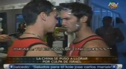 """Combate"": Israel Dreyfus y Anthony Lam se pelean fuera del set de TV [VIDEO]"