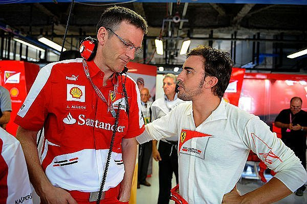 Fórmula 1: James Allison, de era Alonso, deja de ser director técnico de Ferrari