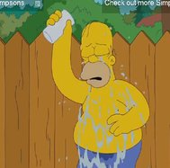Homero Simpson se une al Ice Bucket Challenge [VIDEO]