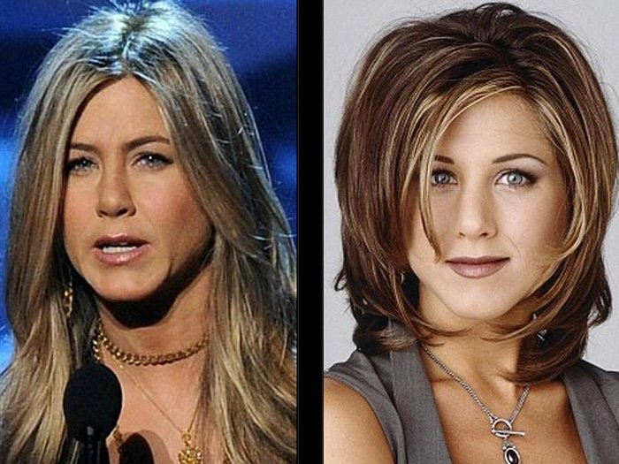 Jennifer Aniston odiaba el 'look' de Rachel