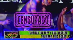 Joshua Ivanoff hizo show hot pero fracasó [VIDEO]