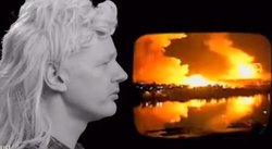 Julian Assange parodia hit musical de los 80 [VIDEO]