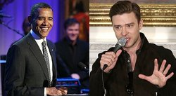 Justin Timberlake hace cantar a Barack Obama [VIDEO]