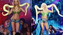 Kaley Cuoco se transforma en Britney Spears y sorprende a todos [FOTOS Y VIDEO]