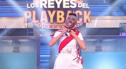 Los Reyes del Playback: Stephanie Valenzuela fue Jefferson Farfán y movió el 'totó' [VIDEO]