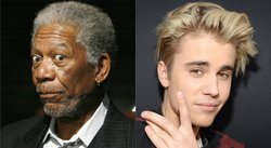 Morgan Freeman se declara fan de Justin Bieber de esta manera [VIDEO]