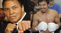 Muhammad Ali quiere que Manny Pacquiao derrote a Floyd Mayweather