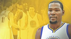 NBA: Kevin Durant va a los Warriors de Stephen Curry y Klay Thompson