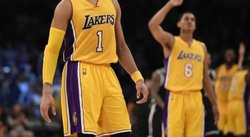 Novato Russell D'Angelo Russell, con 39 puntos, salva a los Lakers