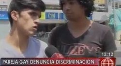 Pareja homosexual denuncia discriminación en Plaza San Miguel [VIDEO]