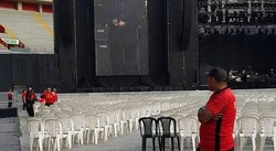 Paul McCartney se prepara para concierto en el Estadio Nacional [FOTO]