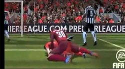 Singular jugada en el FIFA 14 asemeja a pose sexual [VIDEO]