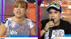 Magaly Medina y Andy V se dijeron de todo en vivo [VIDEO]