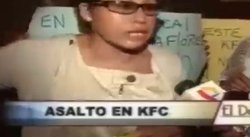 Video: Roban cerca de 2 mil dólares a cliente en local del KFC