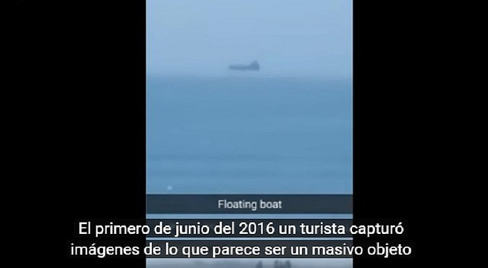 YouTube: ¿Graban una nave extraterrestre flotando sobre playa de EE.UU.? [VIDEO]