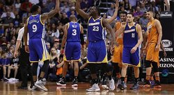 NBA: Durant y Curry lideran ataque ganador de Warriors ante los Suns