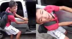 YouTube: roba automóvil, es sorprendido y recibe terrible castigo (VIDEO)