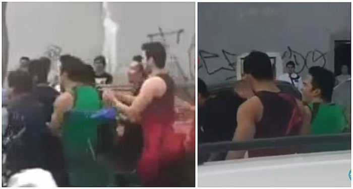 Combate: chicos reality se enfrentan al serenazgo por carro mal estacionado (VIDEO)