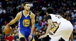 NBA: Curry afianza líderes a Warriors que vencen 109-113 a Pelicans