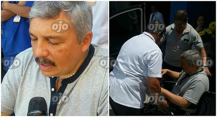 Alberto Beingolea es dado de alta tras accidente vehicular (VIDEO)