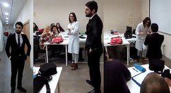 ​Facebook: ¡Qué romántico! Novio irrumpe clase y le pide matrimonio a profesora (VIDEO)